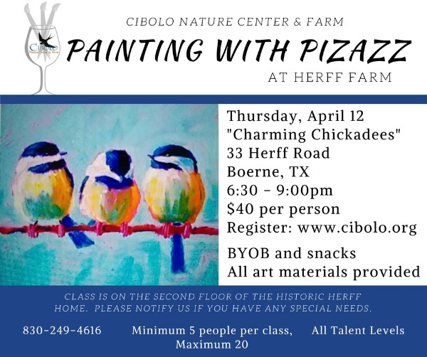 """FARM:  Painting with Pizazz """"Charming Chickadees"""""""