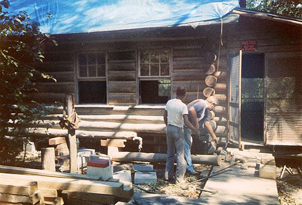 First Cabin Reconstruction