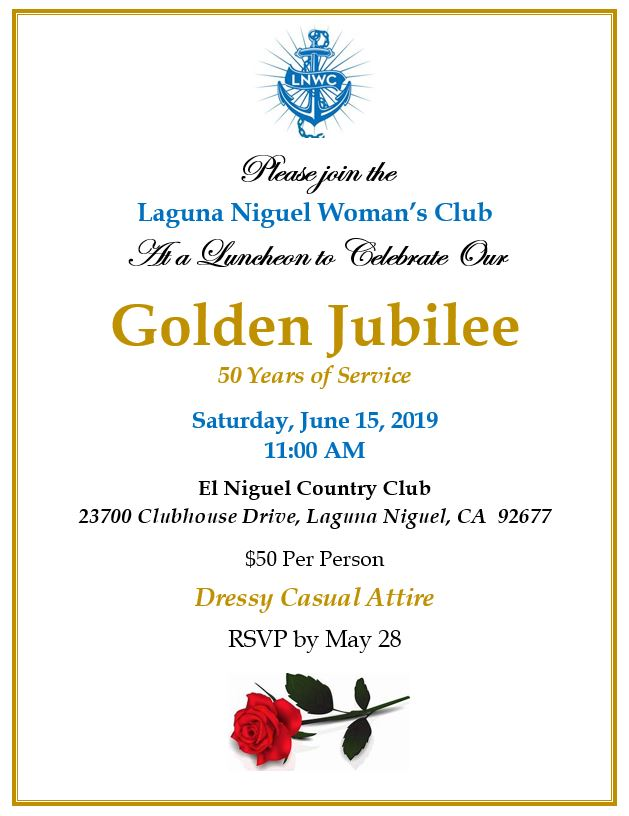LN Woman's Club Golden Jubilee