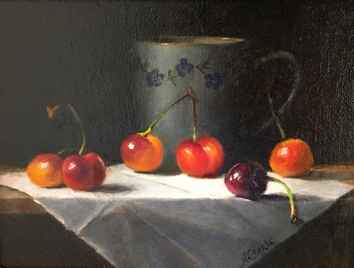 "People's Choice Award Third Place - ""Cherries"""