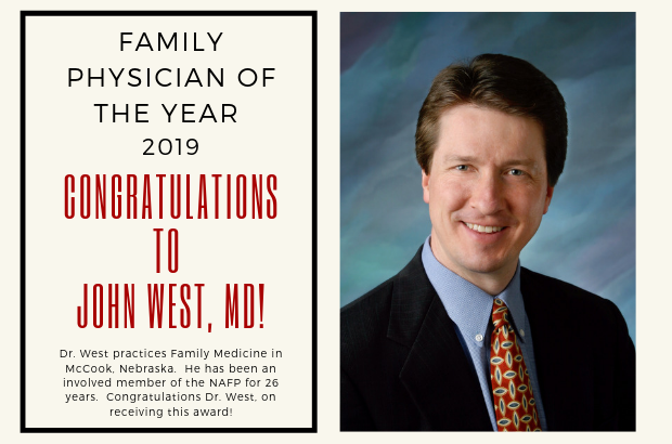 2019 Family Physician of the Year