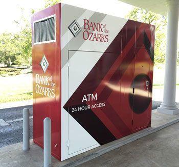Exterior Bank ATM Wrap