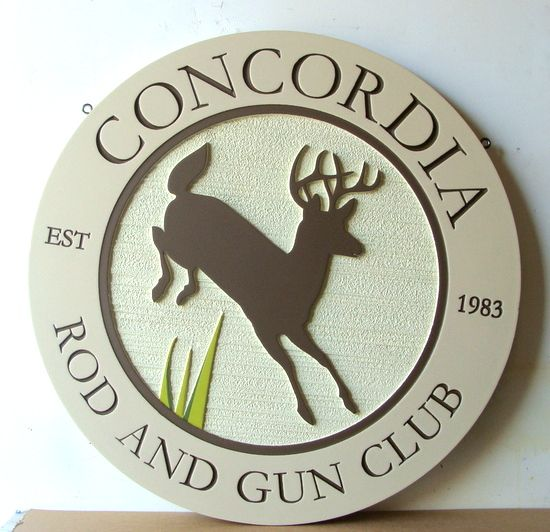 M22632 - Rod & Gun Club Entrance Sign