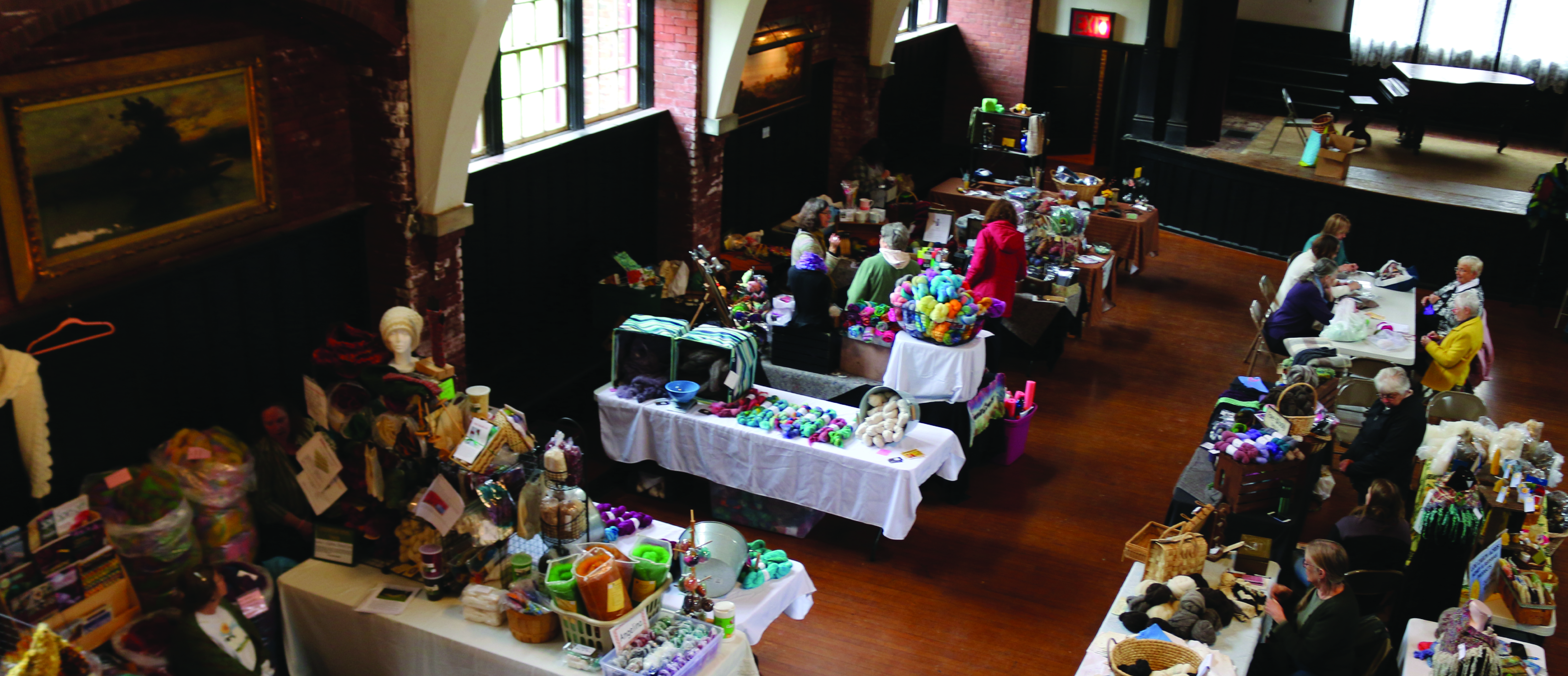 Fiber Flurry is on April 27 - Call for Hall of Artists Exhibitors is Open