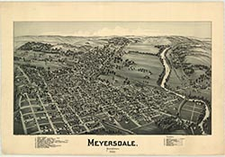 Map - Meyersdale