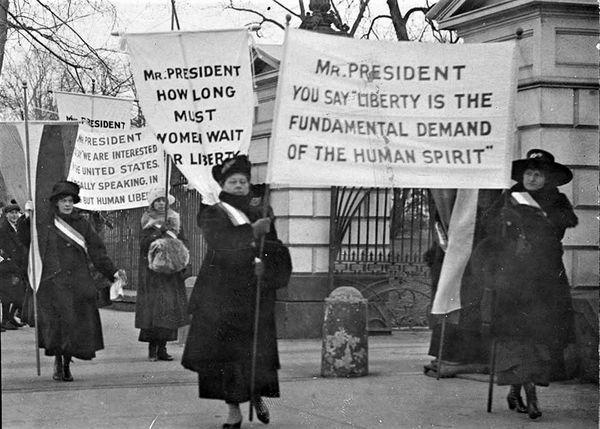 Donate | Women's Suffrage