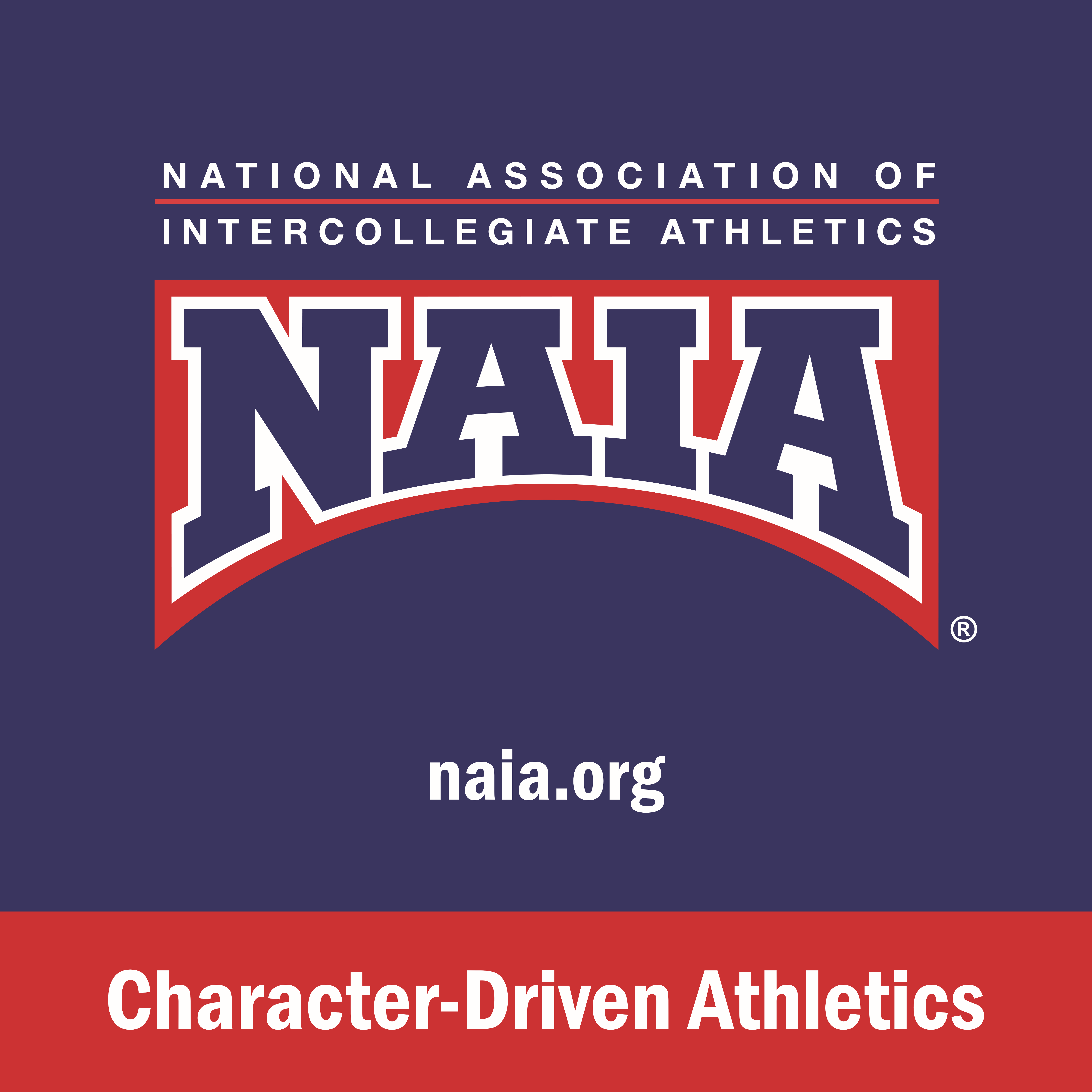 """Outdoor 5' X 5' """"Character-Driven Athletics"""" Banner"""