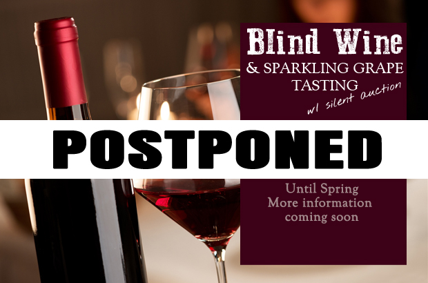 Blind Wine Tasting postponed