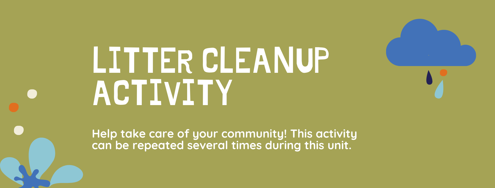 Litter Cleanup Activity