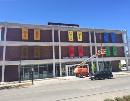 1% for Art Project Installed at Nebraska History Museum