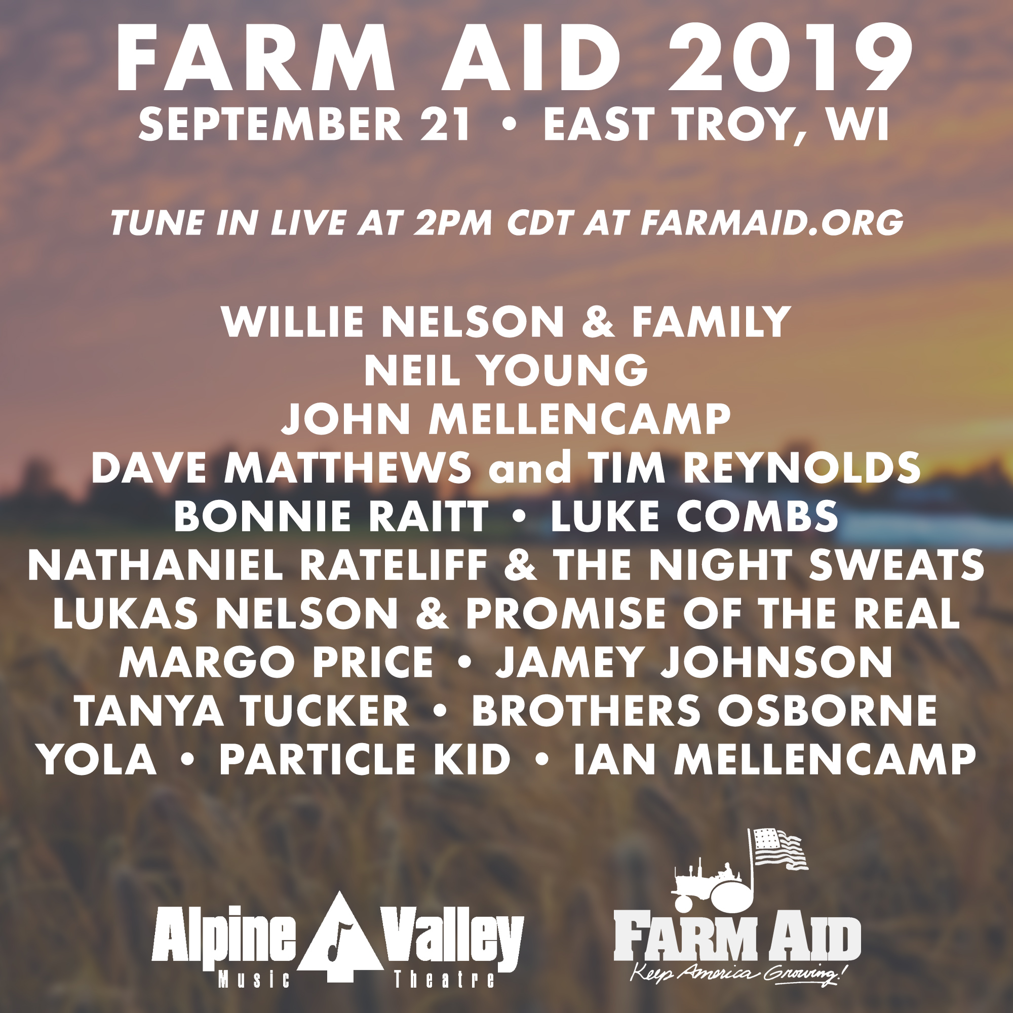 Farm Aid Festival