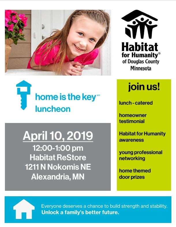 Join Us for the Home is the Key Luncheon