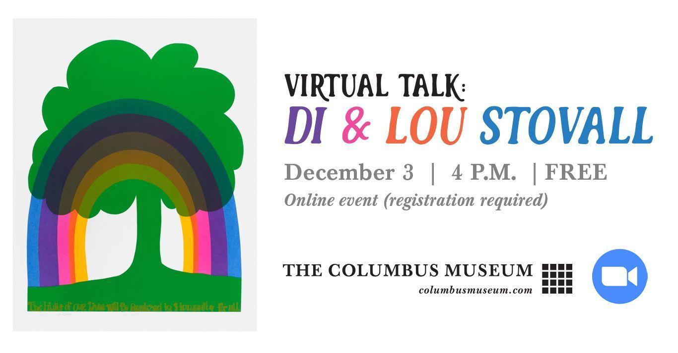 Virtual Artist Talk with Lou & Di Stovall