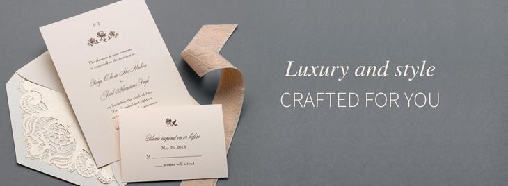 Wedding Invites, carlson craft
