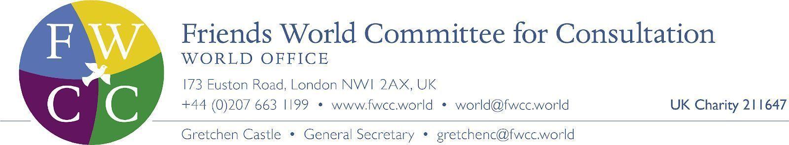 Deadline for applications for FWCC World Office General Secretary
