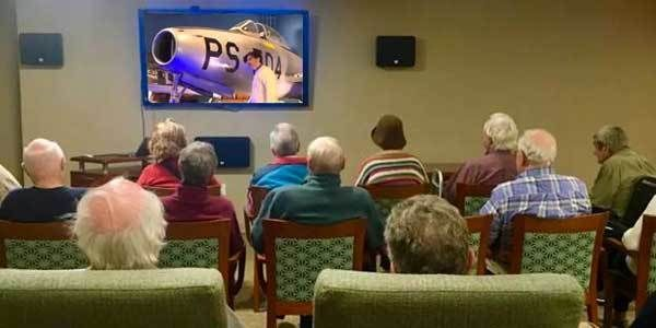 Live, interactive, virtual tours for senior groups