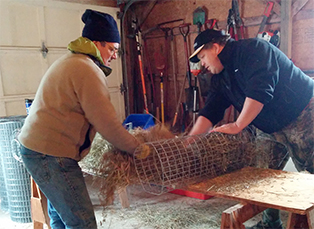 Dufferin County Chapter Builds 40 Hen Houses in First Year