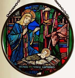 Nativity Window Roundel
