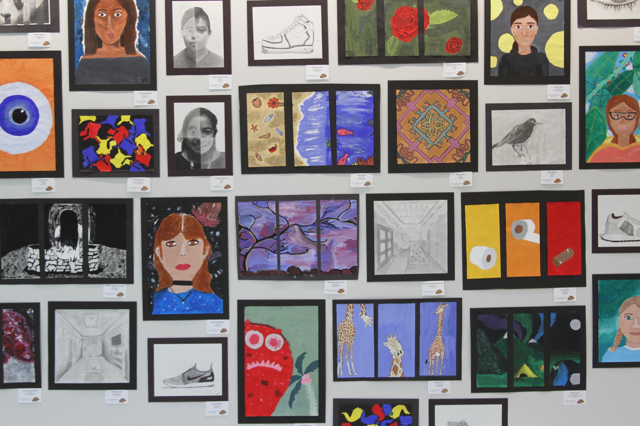 Hall County Student Art Show