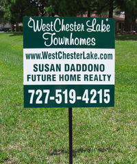 Yard Real Estate Campaign Stake Sign