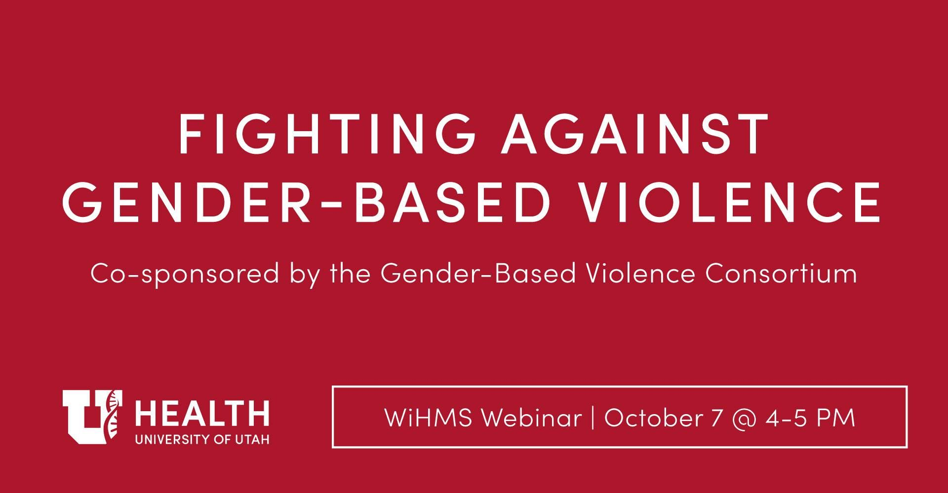 WEBINAR: Fighting Gender-Based Violence