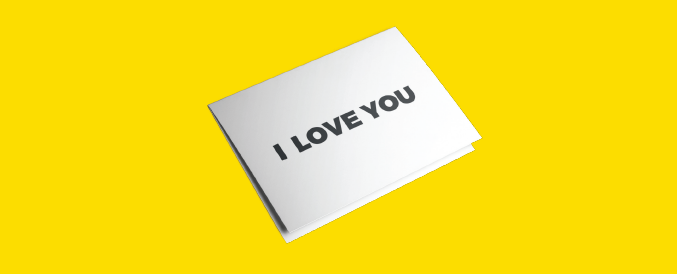 EVER WRITTEN YOUR RECORDS STORAGE COMPANY A LOVE NOTE?