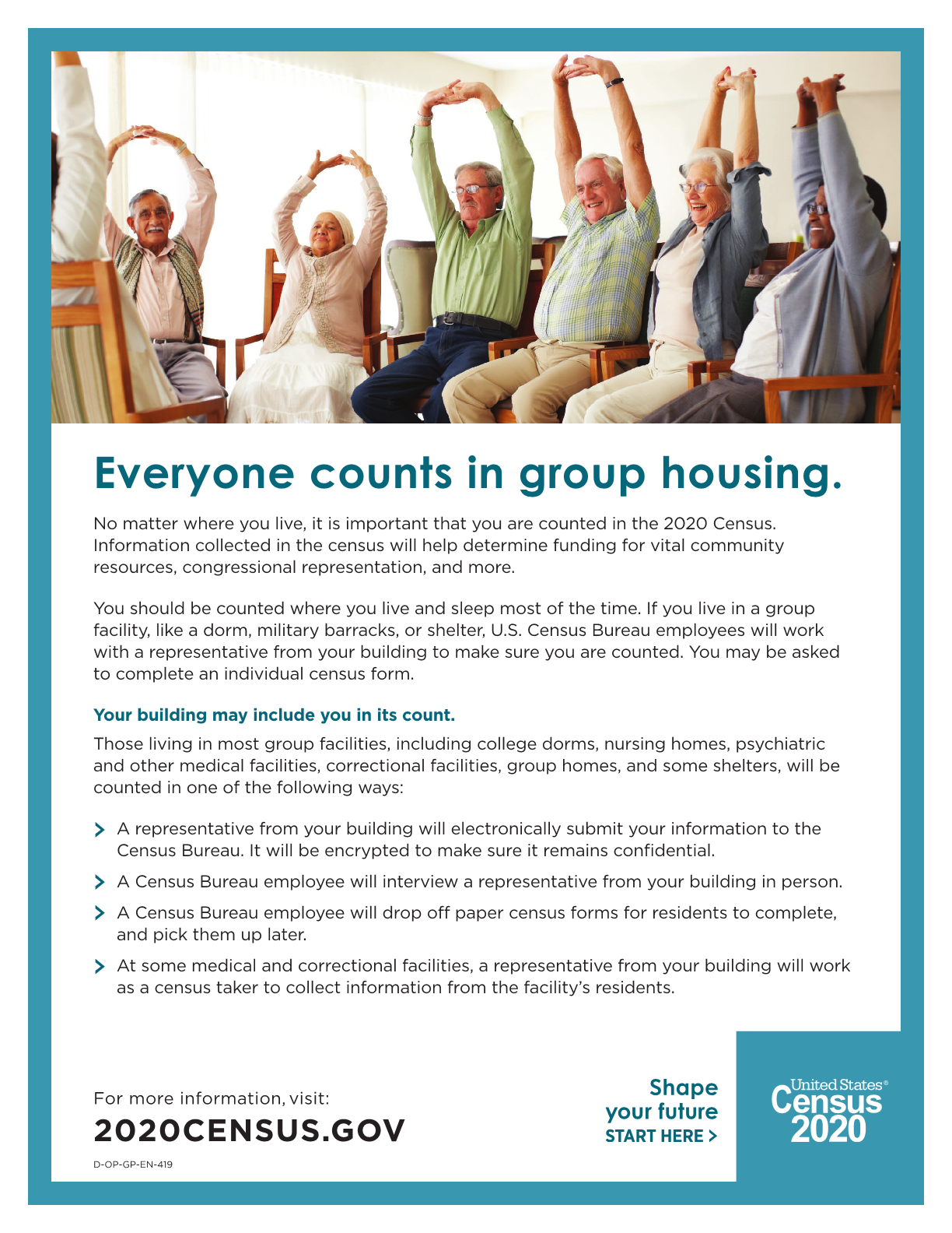 Fact Sheet for Group Housing (This includes a DCF or DDD funded group homes and other funding housing options such as a supported apartment.)
