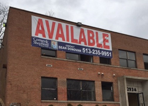 Real Estate Available Banner