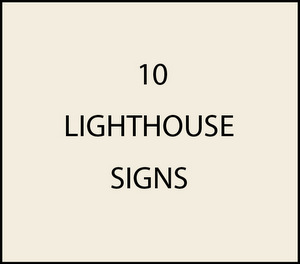 L21420 - Lighthouse Signs