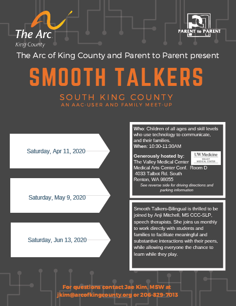 Cancelled: South King County Smooth Talkers