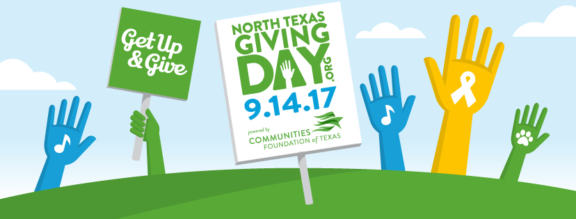 North Texas Giving Day is Thursday, September 14!