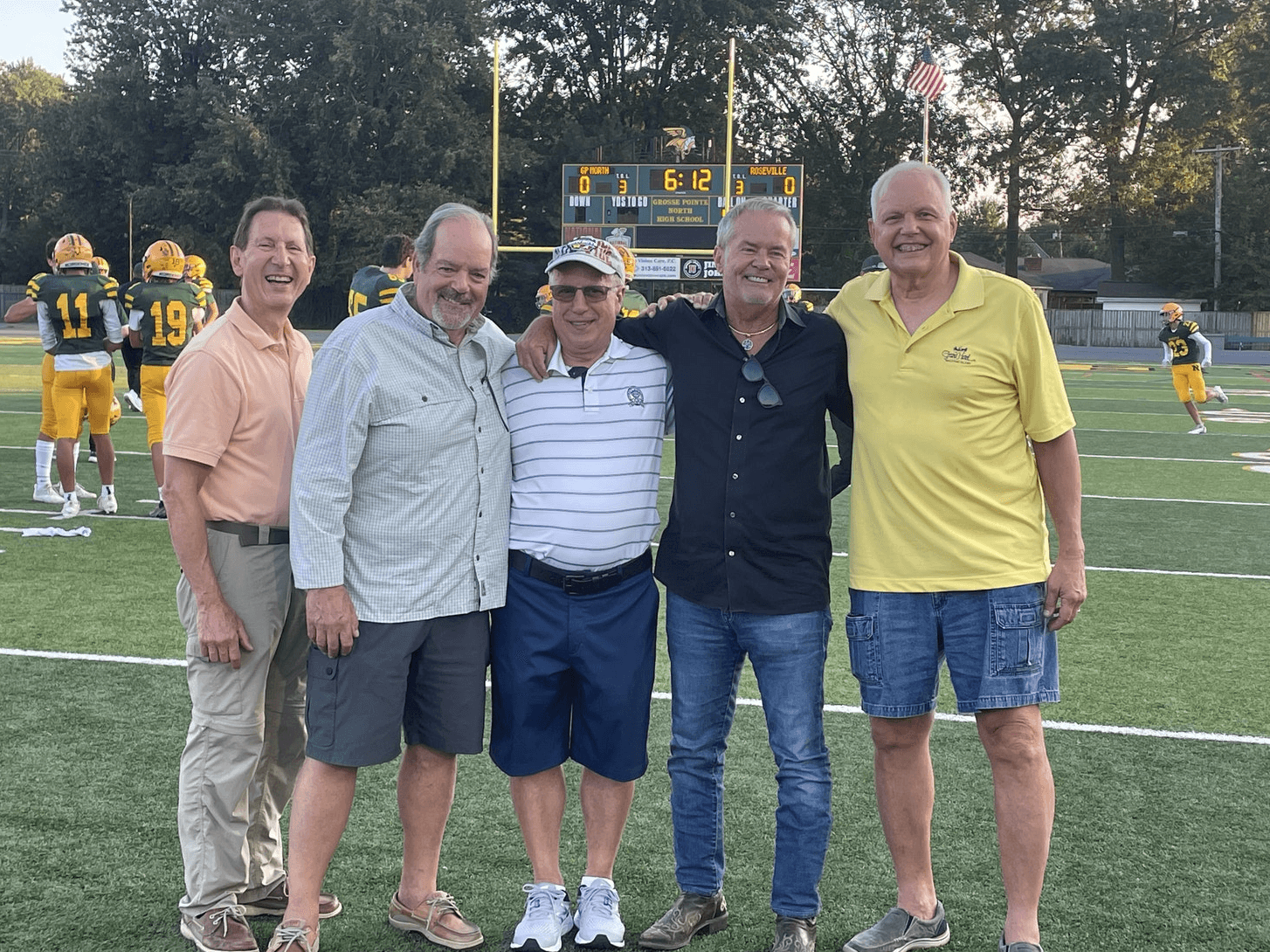 Football Teammates - Grosse Pointe North, Class of 1971