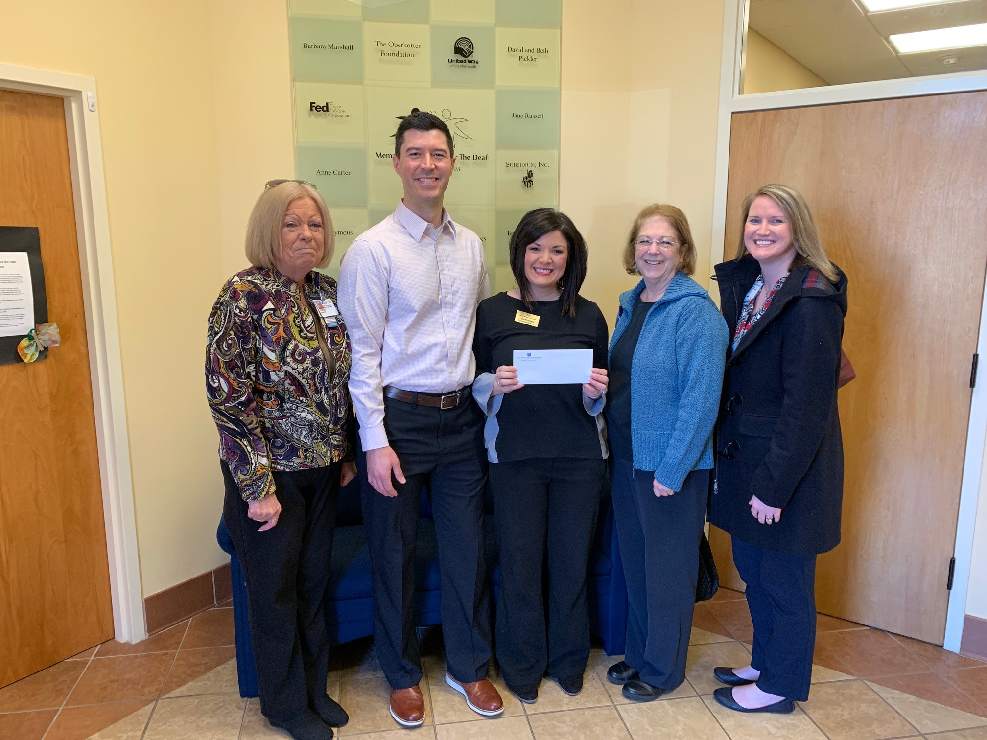 Baptist Memorial Health Care Donates $1,200 to MOSD!
