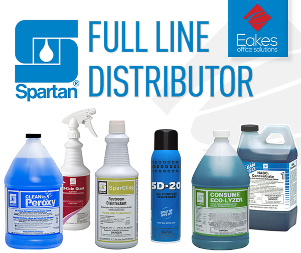 Eakes Adds Spartan Chemical Line
