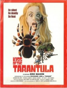 Kiss of the Tarantula poster and distribution information sheet