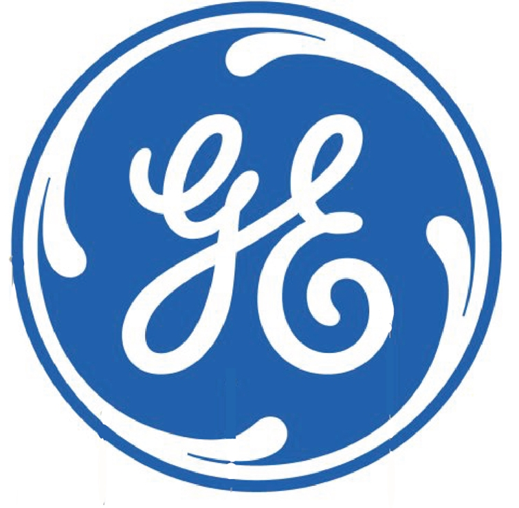 Z35302 -  Carved Wall Plaque of the Emblem Logo for  the GE (General Electric Company).