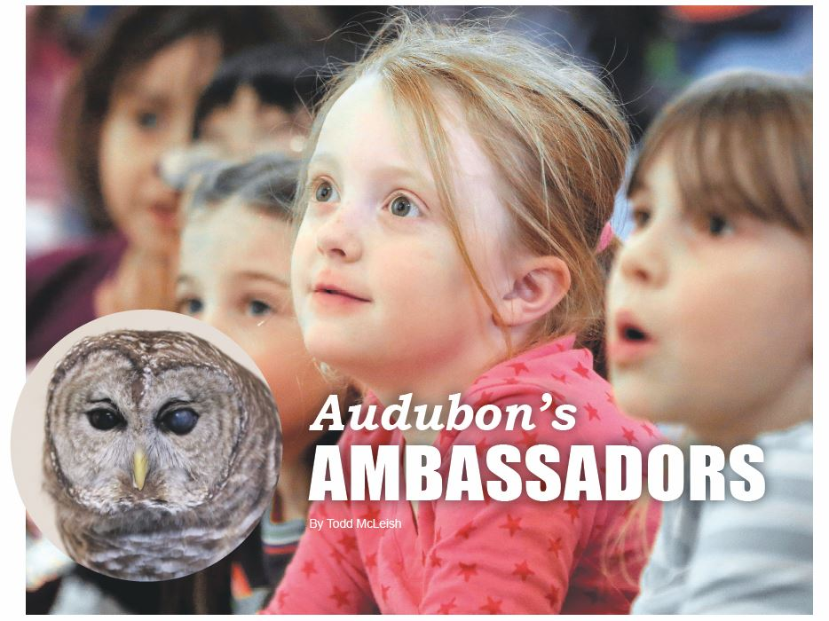 Audubon's Ambassadors AUdubon Society of Rhode Island Environment Education Programs