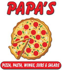 papas pizaa