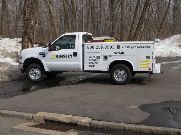Fleet Graphics, Utility Truck Lettering & Logo Graphics