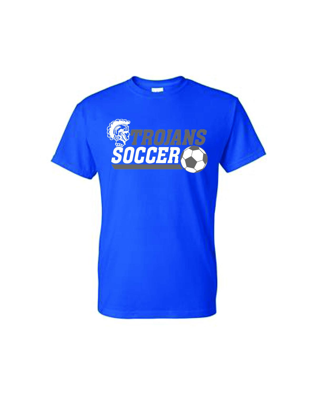 Auburn SOCCER Short Sleeve (Blue)