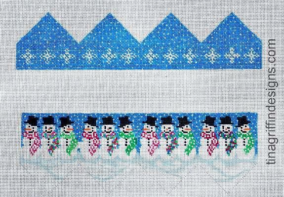 Smiling Snowmen Present