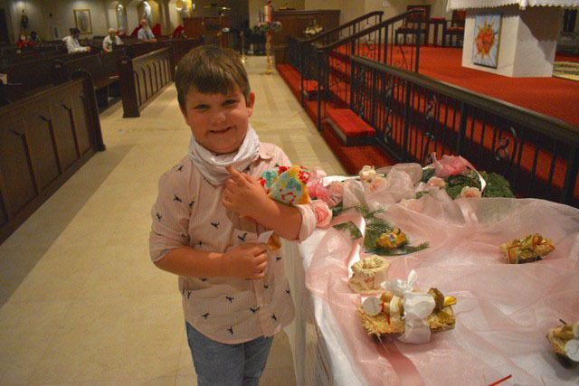 Bambinelli Sunday: Children bring baby Jesus to church for special blessing