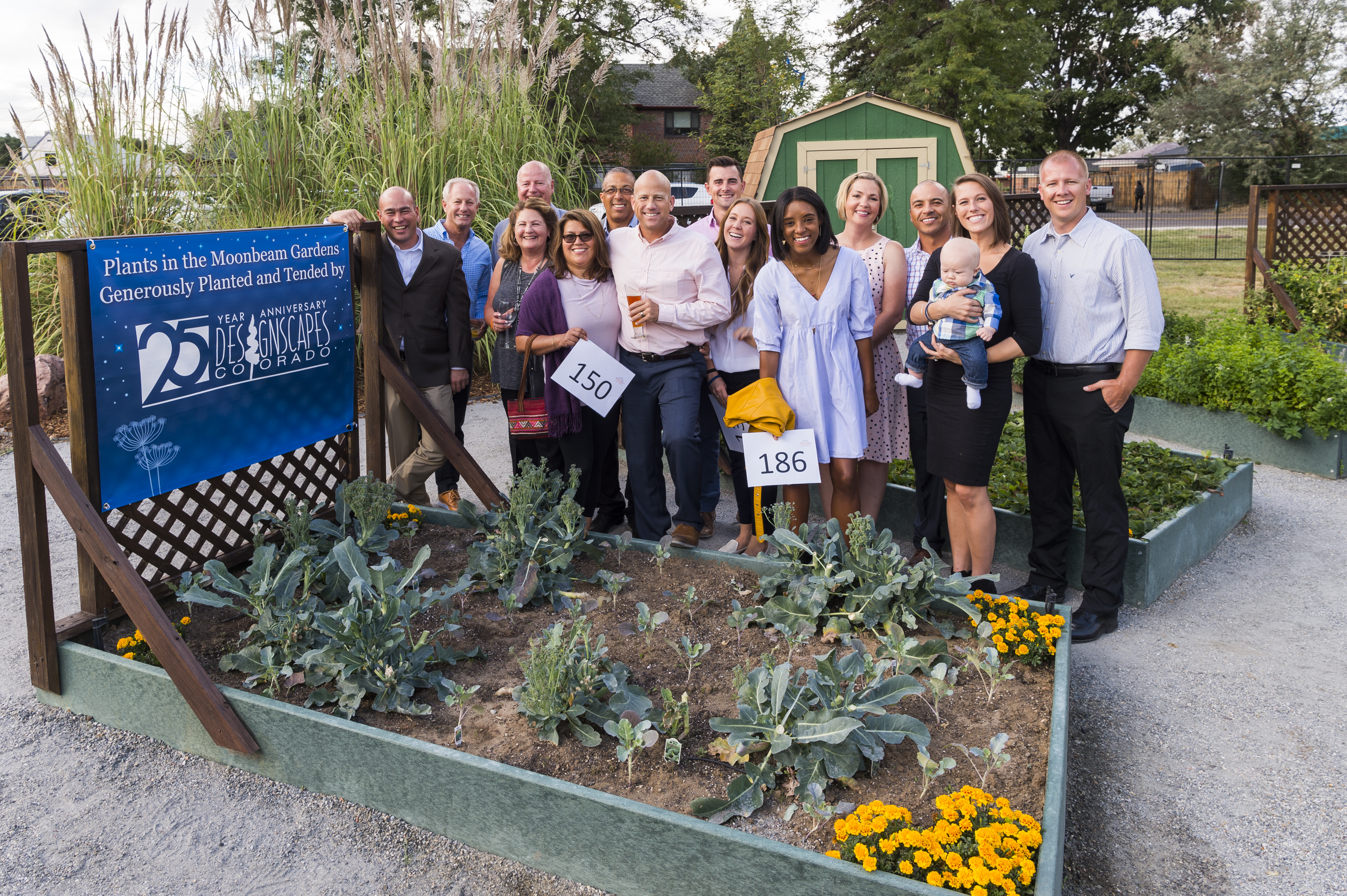 Moonbeam Garden sponsors, Designscapes Colorado
