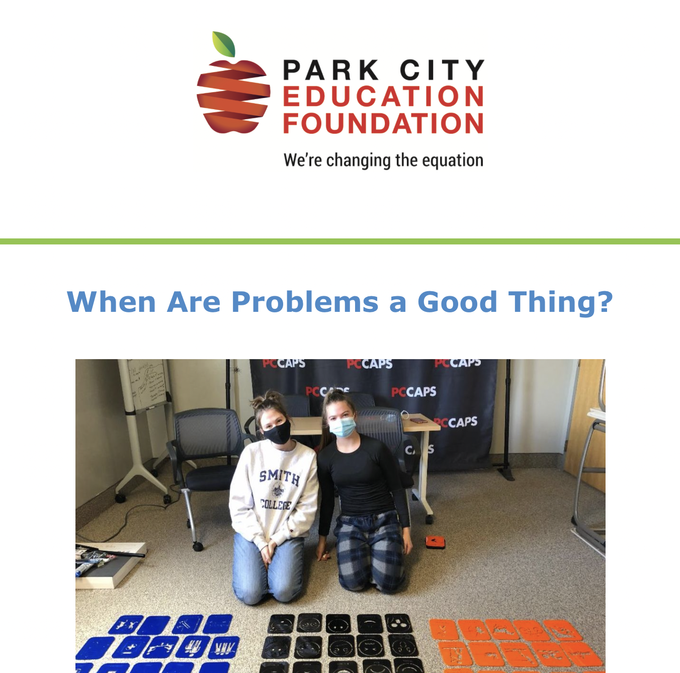 PCEF May Newsletter