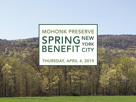 Mohonk Preserve's New York City Spring Benefit