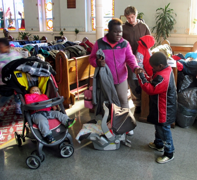 Maryland Branch joins Coat Drive