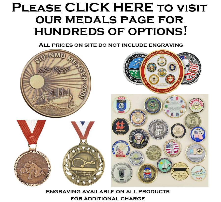 Medals & Medallions Main