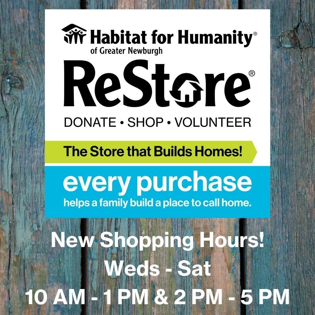 New Shopping Hours for ReStore!