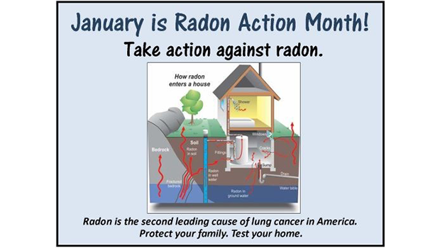 January is Radon Action Month!