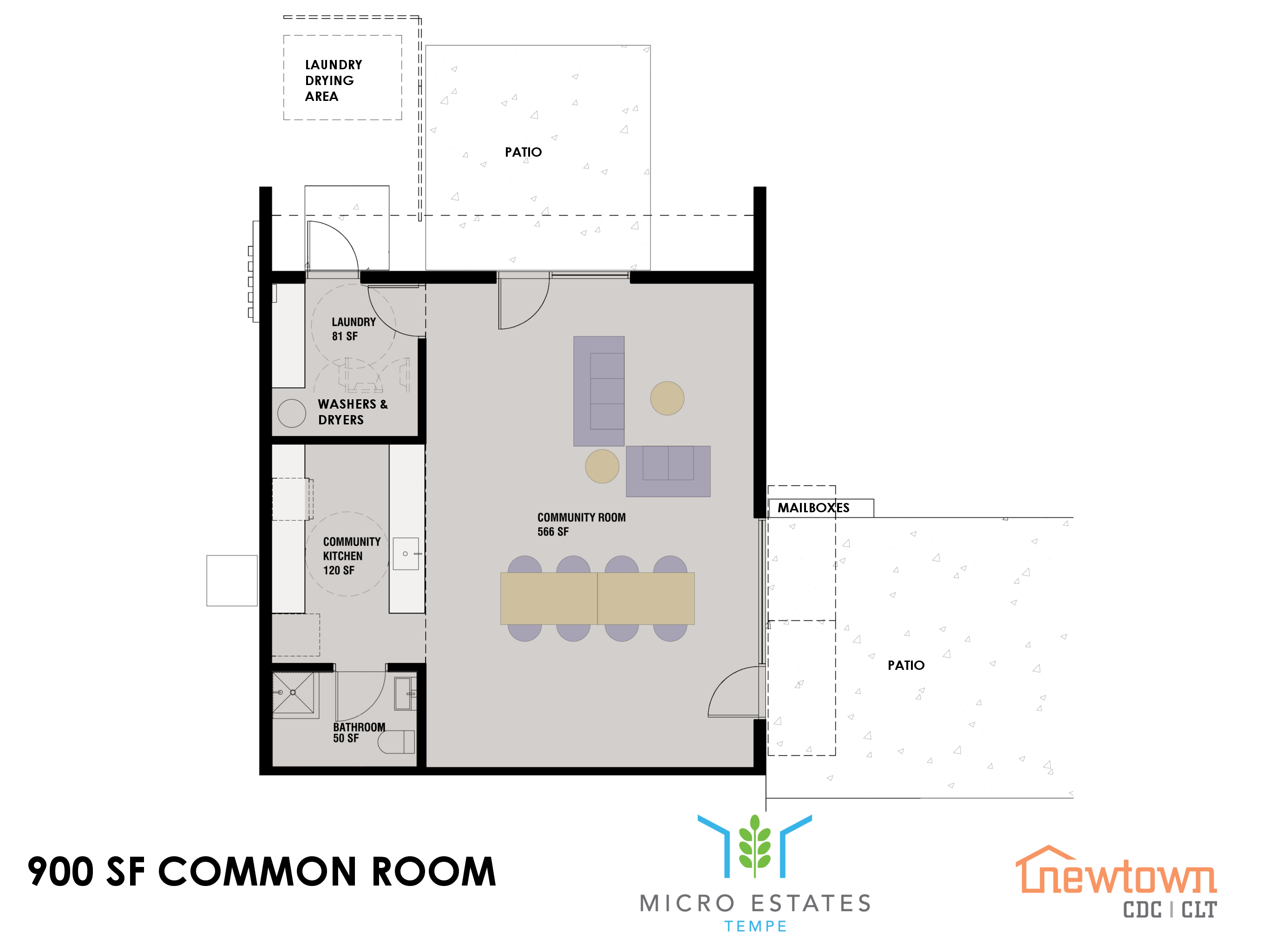 Common Room Floorplan